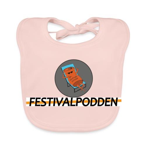 Festivalpodden - Loggorna - Ekologisk babyhaklapp