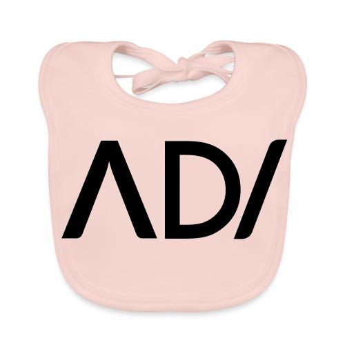 Anpassa AD / logo - Ekologisk babyhaklapp
