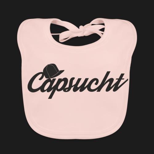 capsucht logo schwarz - Baby Bio-Lätzchen