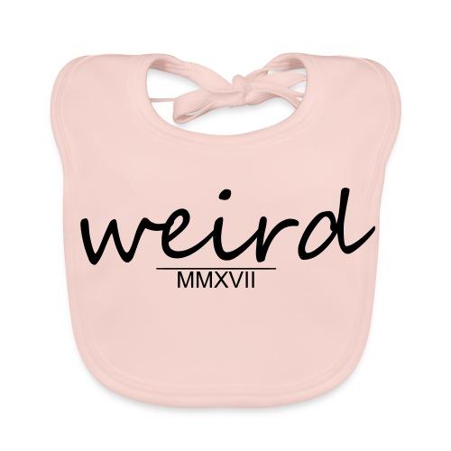 Weird Logo - Baby Bio-Lätzchen
