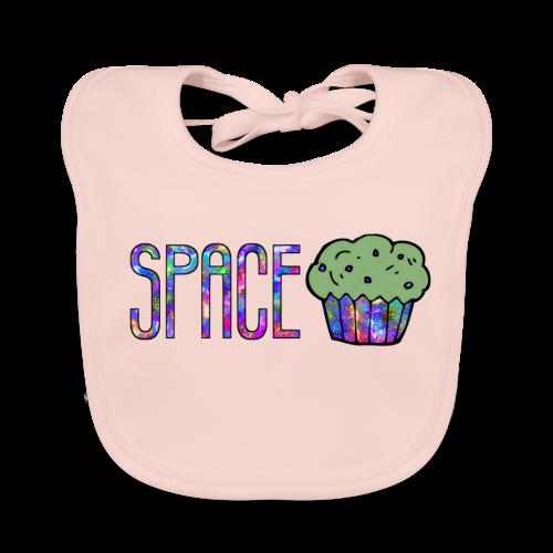 Space cake - Bavoir bio Bébé