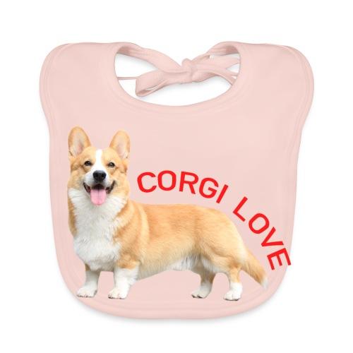 CorgiLove - Baby Organic Bib