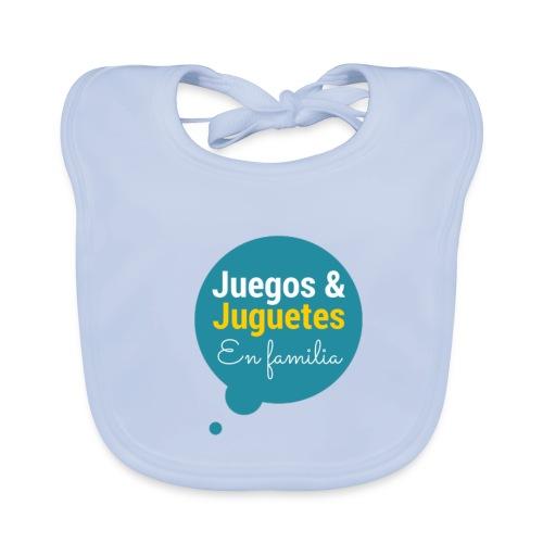 Logo Juegos y Juguetes en Familia - Babero ecológico bebé