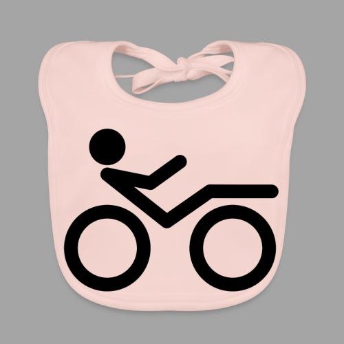 Recumbent bike black 2 - Vauvan ruokalappu