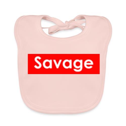 Savage / Supreme tshirt - Bio-slabbetje voor baby's