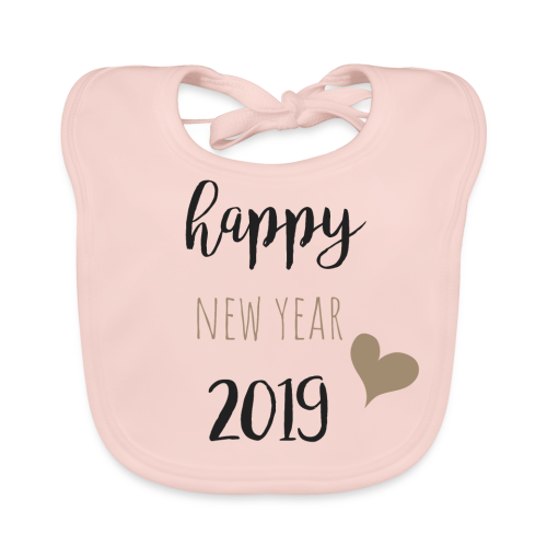 Happy New Year 2019 - Baby Bio-Lätzchen