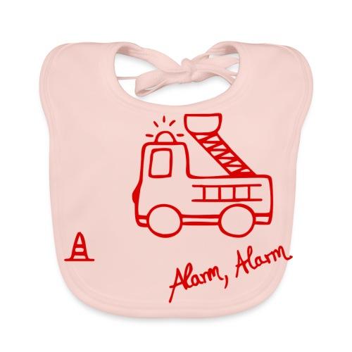 Feuerwehrauto 112 - Baby Bio-Lätzchen