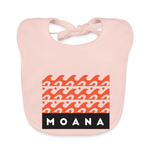 Moana means Spirit of the Ocean by Te-Moana - Baby Bio-Lätzchen