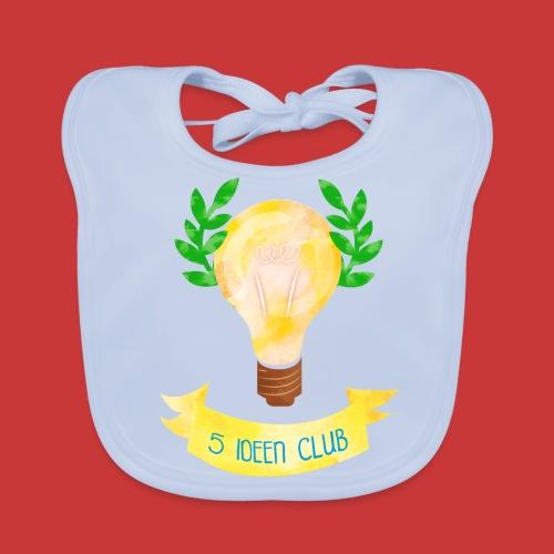 5 IDEEN CLUB Glühbirne 2018 - Baby Bio-Lätzchen