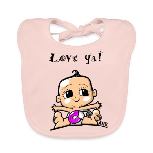 baby girl color - Bio-slabbetje voor baby's