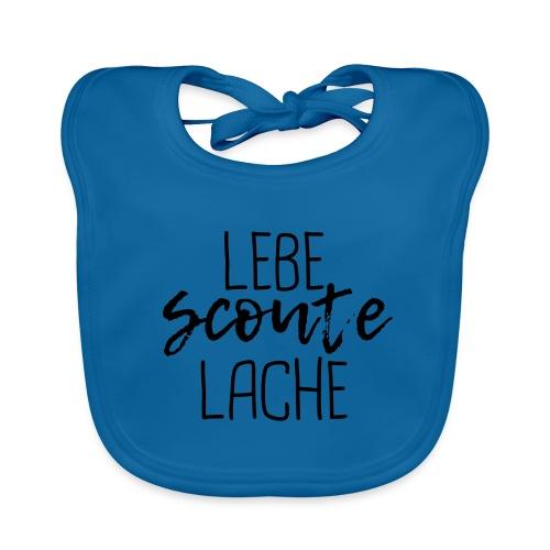 Lebe Scoute Lache Lettering Brush - Farbe wählbar - Baby Bio-Lätzchen