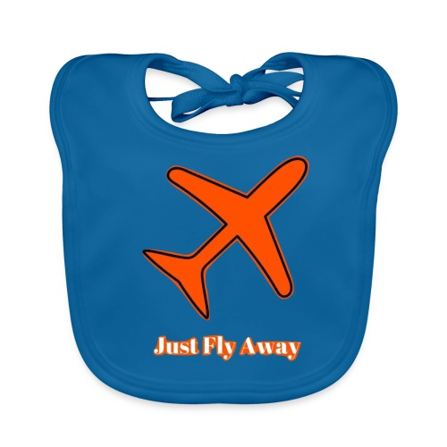 Just Fly Away - Baby Organic Bib
