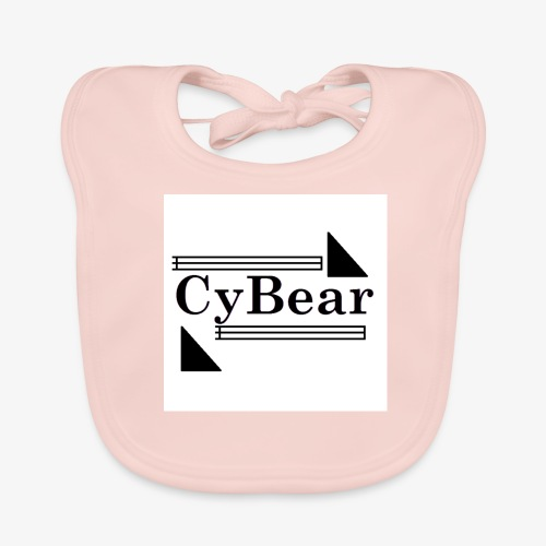 CyBear Tees and Accessories - Baby Organic Bib