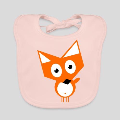 Der neugierige Fuchs - Baby Bio-Lätzchen