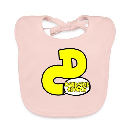 ®Darkside Comics DC Logo Kids - Baby Organic Bib