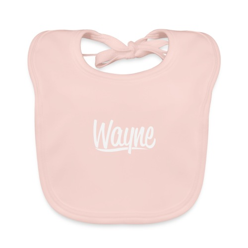 Wayne - New Era Quote Style - Baby Bio-Lätzchen