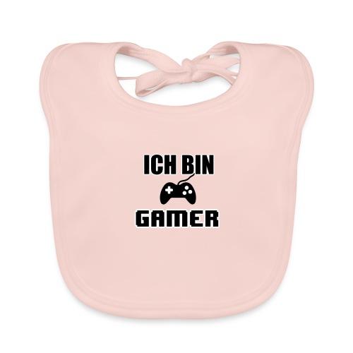 Ich bin Gamer Case - Baby Bio-Lätzchen