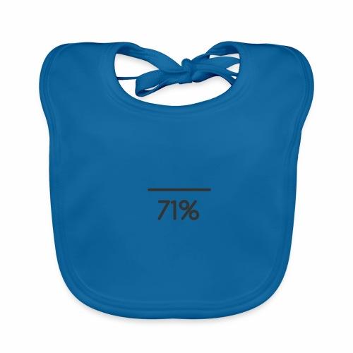 71 PERCENT logo - Baby Organic Bib