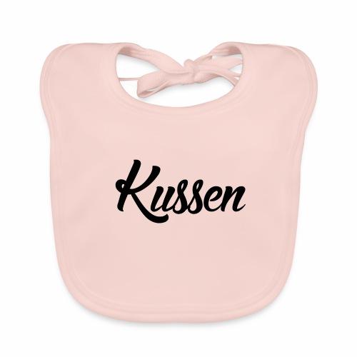 Kussen.website kussensloop zwart - Bio-slabbetje voor baby's