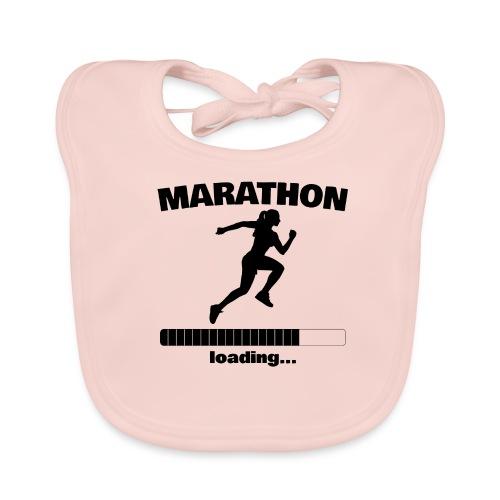 Marathon loading... Baby Motiv - Baby Bio-Lätzchen