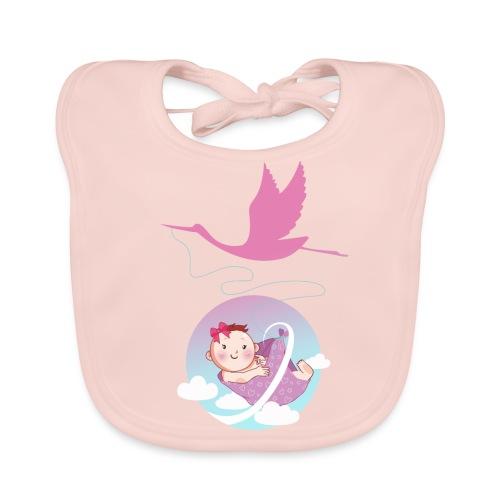 Umstandsmode T-Shirt Motiv / Geschenk Babyparty - Baby Bio-Lätzchen
