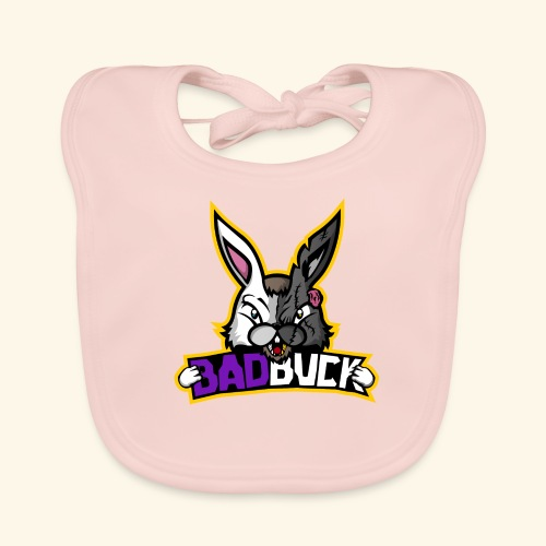 Badbuck Logo - Baby Organic Bib