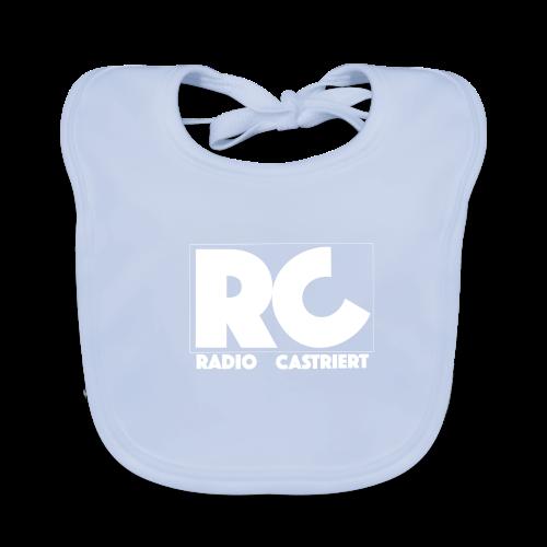 Radio CASTriert Logo 2017/2018 - Baby Bio-Lätzchen