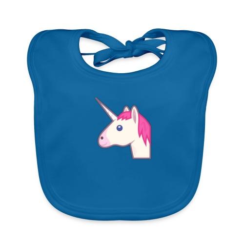 unicorn print shirts - Baby økologisk hagesmæk