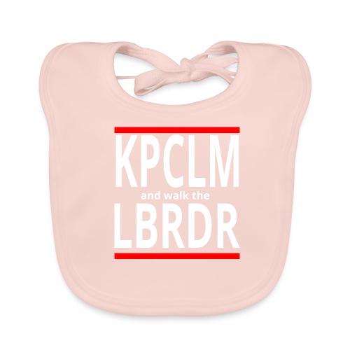 Keep Calm, mal anders - Baby Bio-Lätzchen