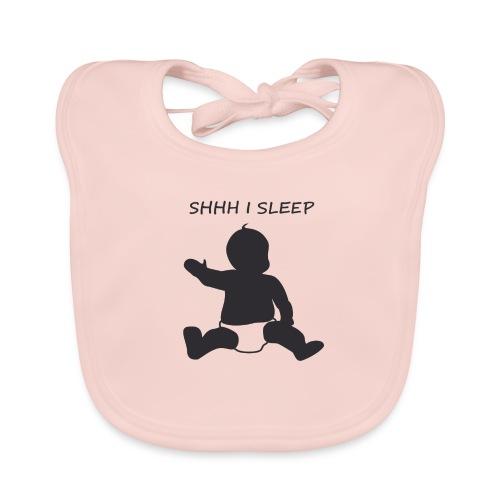 SHH I SLEEP - Bavoir bio Bébé