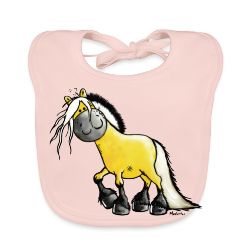 fjord horse - Baby Bio-Lätzchen