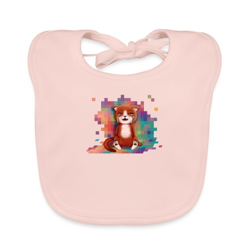 Pixels Make Me Cry - Baby Organic Bib