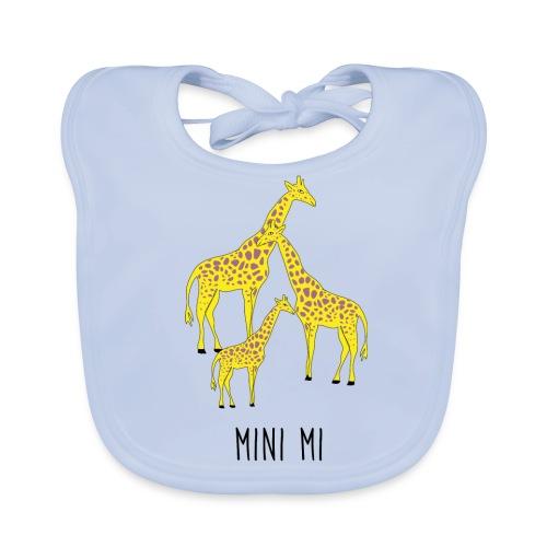 Giraffen Familie - Baby Bio-Lätzchen