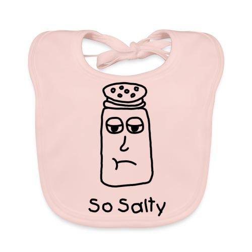 So Salty (Black Design) - Bio-slabbetje voor baby's