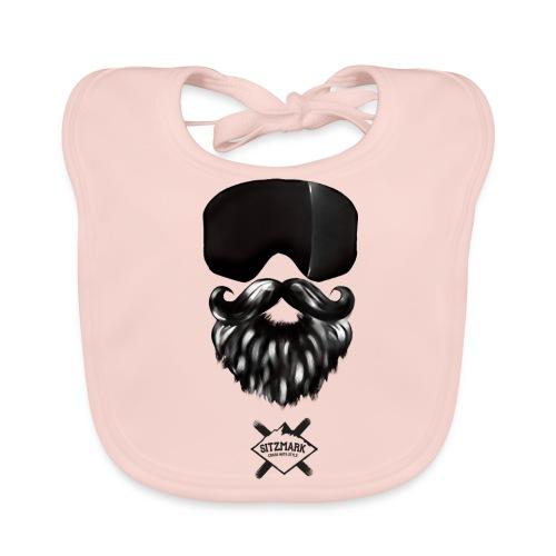 Beard mask - Babero ecológico bebé