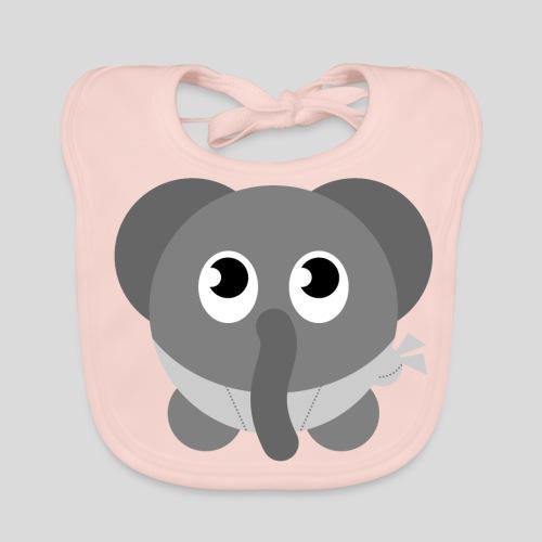 Der schüchterne Elefant - Baby Bio-Lätzchen