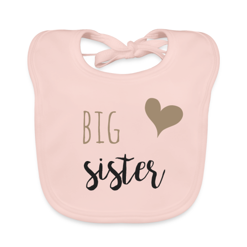 big sister Familyshirt - Baby Bio-Lätzchen