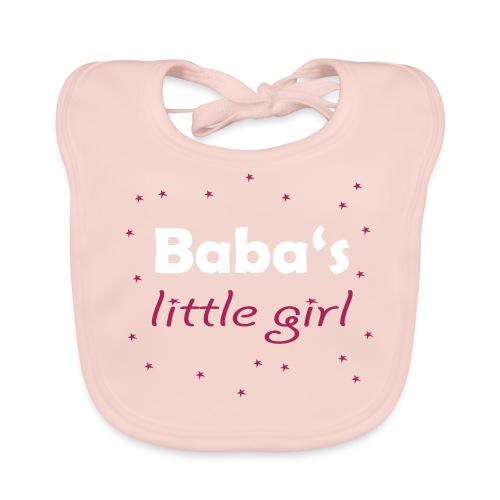 Baba's little girl Babylätzchen - Baby Bio-Lätzchen