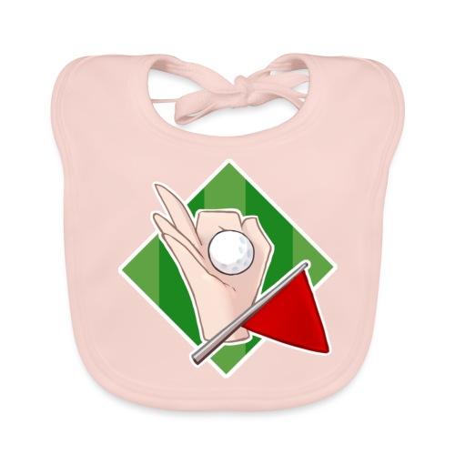 Minigolfgutta Logo - Økologisk babysmekke