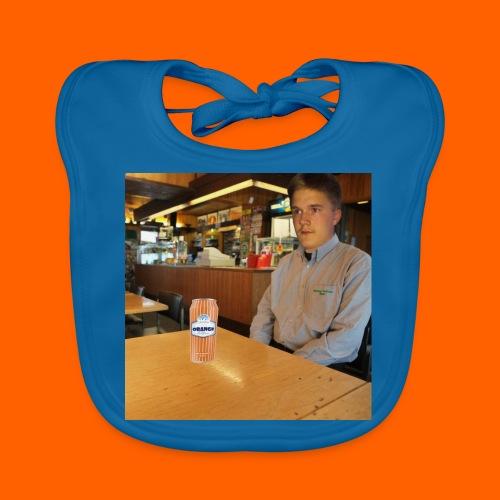 OrangeFullLari - Vauvan luomuruokalappu