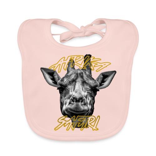 Giraffe - Afrika Safari - Baby Bio-Lätzchen