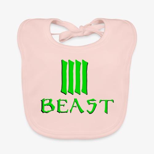 Beast Green - Baby Organic Bib