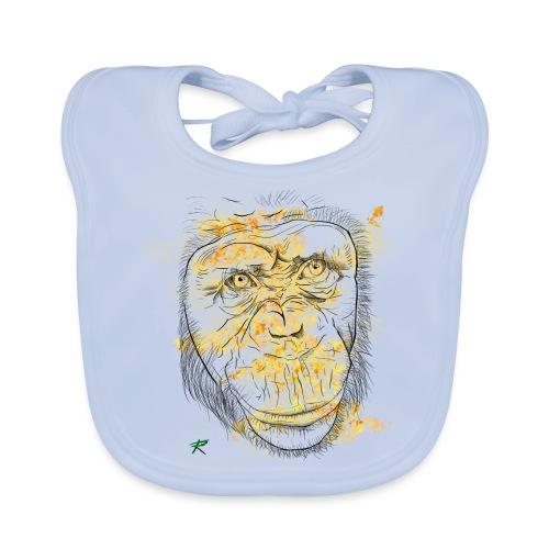 Scimpanzè color - Bavaglino
