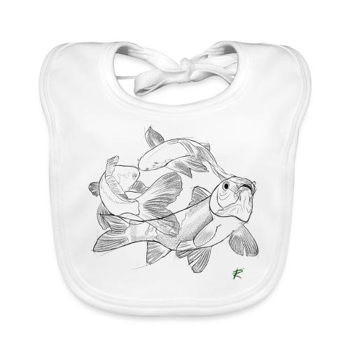 Carpa koi - Bavaglino ecologico per neonato