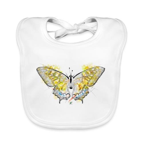 Butterfly color - Bavaglino ecologico per neonato