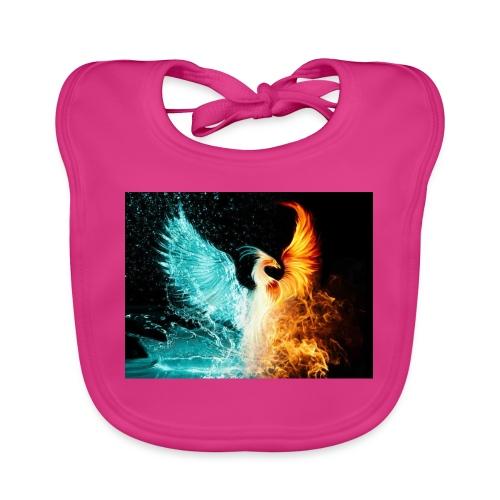 Elemental phoenix - Baby Organic Bib