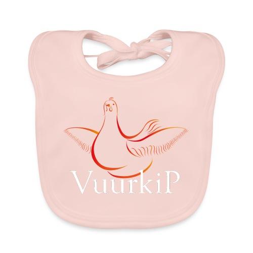 Vuurkip - Bio-slabbetje voor baby's