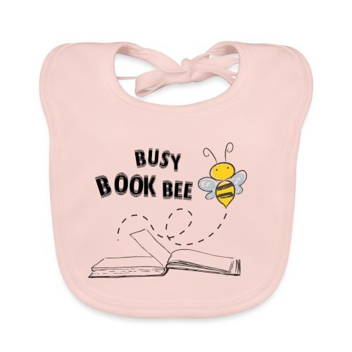 Bees5-2 Bienen und Bücher | save the bees - Baby Organic Bib