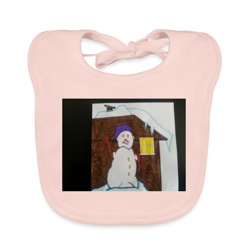 pupazzo di neve - Bavaglino