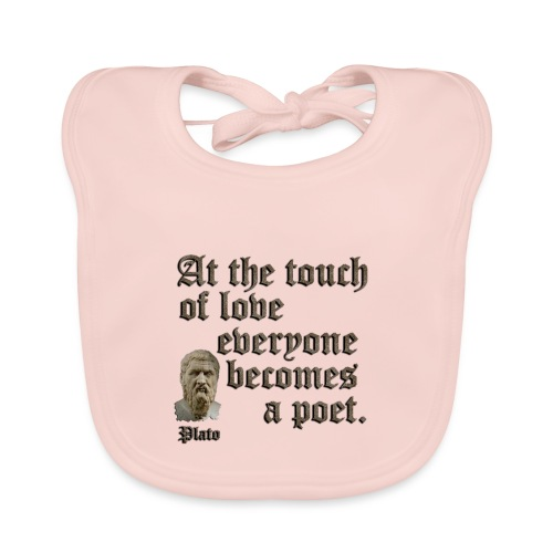 At the touch of love - Baby Organic Bib